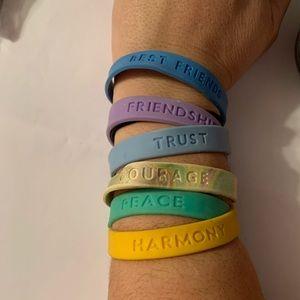 Jewelry - Jelly bracelets